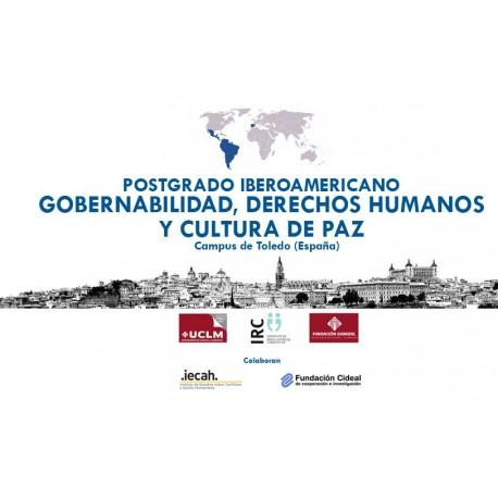 Postgrado Iberoamericano en Especialista en Gobernabilidad, Derechos Humanos y Cultura de Paz